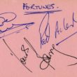 Autographs of The Fortunes