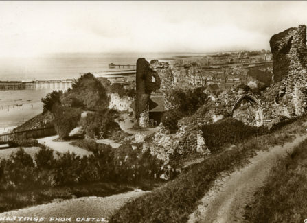 Hastings from the castle