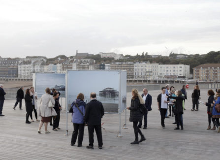 Pierdom exhibition, Hastings Pier Head, Autumn 2016