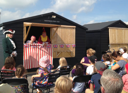 Live Punch and Judy performance, August 2016
