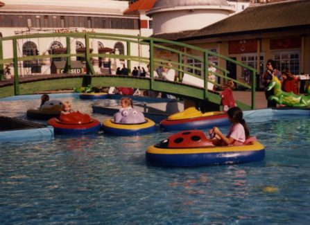Aquabugs Boating Lake on the Pier