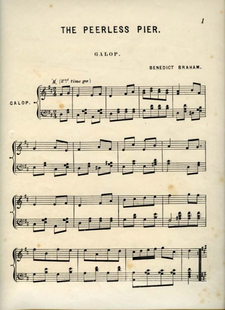 'Peerless Peer' sheet music