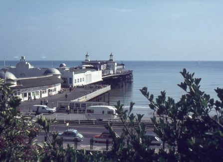 Hastings Pier from White Rock Gardens