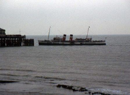 The Waverley at Hastings Pier Head