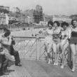 Bathing Beauties on the Pier