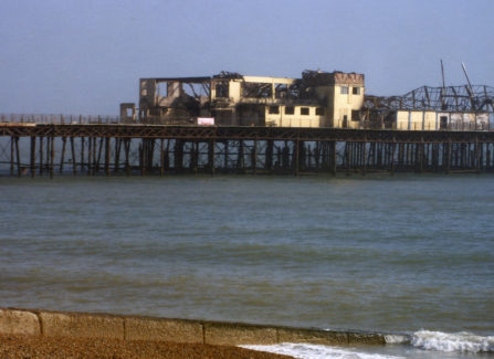 End of the Pier after the 2010 Fire