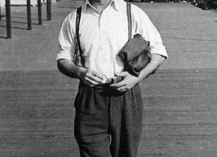 A. E. Brazier, Pier Maintenance Worker during WWII