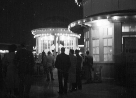 The Bandstand at Night