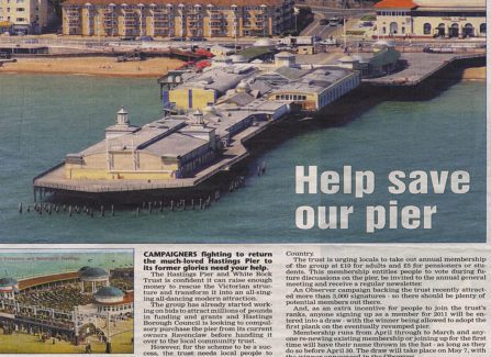 'Help save our pier' from Hastings Observer