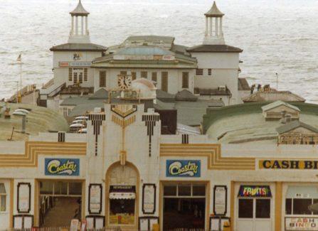 The Pier's Art Deco Frontage
