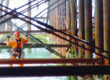 The Pier under restoration