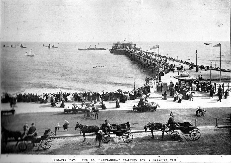 Hastings Pier circa 1900