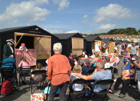 Live Punch and Judy, August 2016