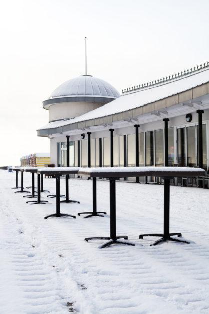 Pier Pavilion in winter