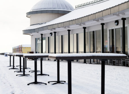 Pier Pavilion in winter