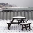 Hastings pier in winter
